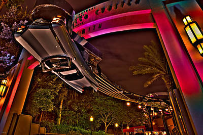 Photograph - Aerosmith Rock 'n' Roller Coaster Hdr by Jason Blalock
