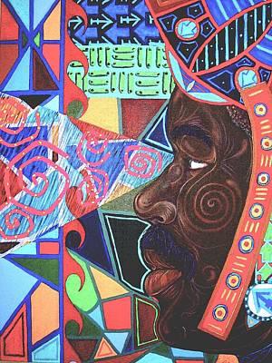 Aesthetic Ascension Art Print by Malik Seneferu