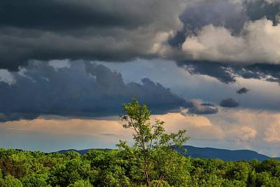 Photograph - Afternoon Clouds by Kathryn Meyer