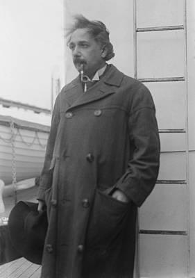 Albert Einstein 1879-1955 Art Print