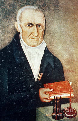 1801 Photograph - Alessandro Volta, Italian Physicist by Science Source