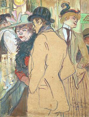 Painting - Alfred La Guigne by Henri De Toulouse-Lautrec