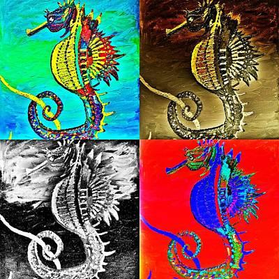 All The Kings Horses Original by Scott D Van Osdol