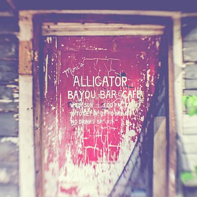 Alligator Bayou Bar Art Print