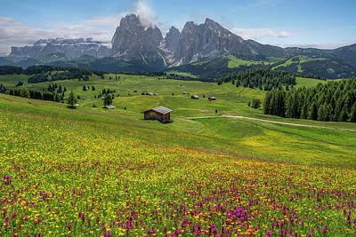 Tyrol Wall Art - Photograph - Alpe Di Siusi - Dolomiti by Joana Kruse