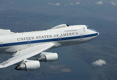 Airliners Photograph - An E-4b National Airborne Operations by HIGH-G Productions