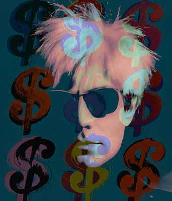 Andy Warhol Collection Art Print by Marvin Blaine