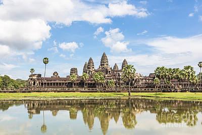 Angkor Wat Art Print by Didier Marti