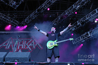 Scott Ian Photograph - Anthrax by Jenny Potter