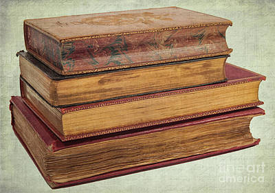 Photograph - Antique Books by Patricia Hofmeester