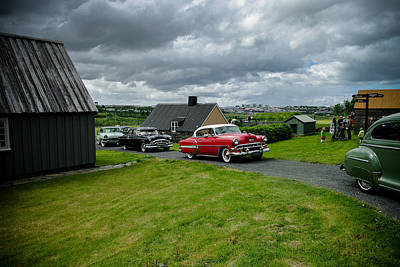 Antique Cars Print by Mirra Photography