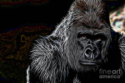 Ape Collection Art Print by Marvin Blaine