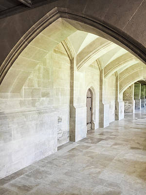 Corridor Photograph - Arches by Tom Gowanlock