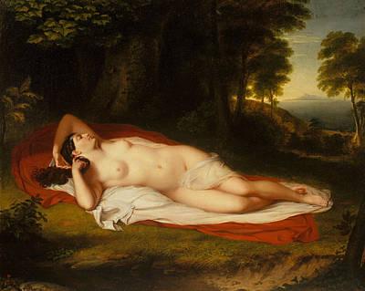 Painting - Ariadne by Treasury Classics Art