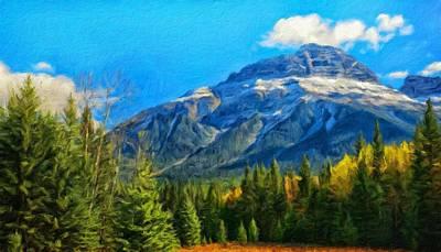 Sea Painting - Art Landscape Nature  by Margaret J Rocha