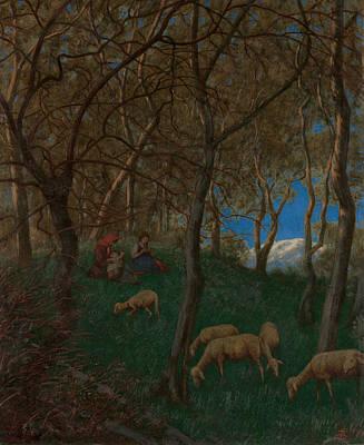 Painting - At Lake Garda by Treasury Classics Art