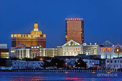 Atlantic City Skyline Print by John Greim
