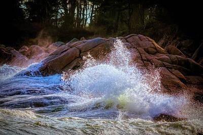 Photograph - Atlantic Waves by Lilia D