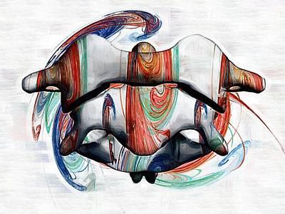 Healthcare Digital Art - Atlas Anatomy Art by Joseph Ventura