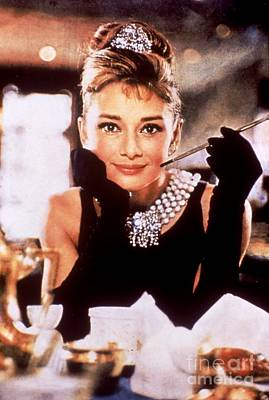 Blake Photograph - Audrey Hepburn In Breakfast At Tiffany's by The Titanic Project
