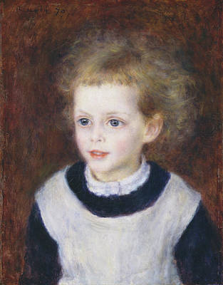 Margot Painting - Auguste Renoir by MotionAge Designs