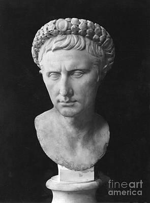 Photograph - Augustus 63 B.c.-14 A.d. by Granger