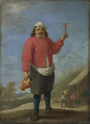 Digital Art - Autumn by David Teniers the Younger