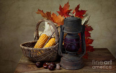 Wicker Photograph - Autumn by Nailia Schwarz