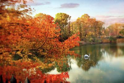 Autumn Splendor  Art Print by Jessica Jenney