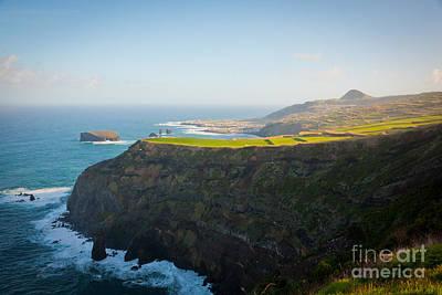 Azores Coastal Landscape Art Print