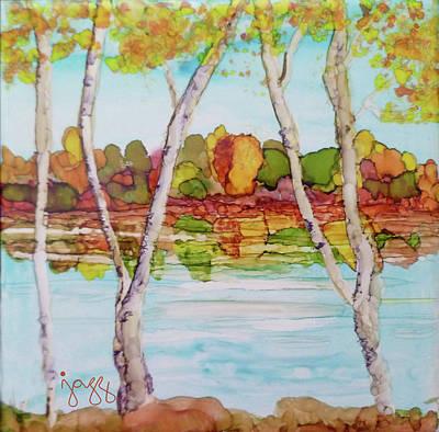 Jazz Art Painting - 3-b Landscape by Jazz Art