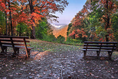 Photograph - Babcock State Park by Mary Almond