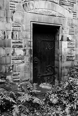 Photograph - Back Door by Guy Shultz