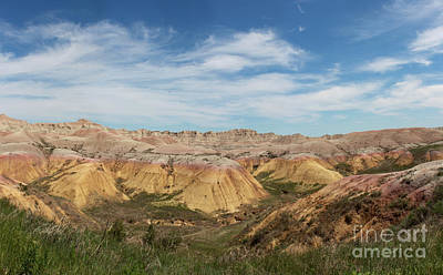 Photograph - Badlands National Park South Dakota by Adam Long