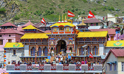 Photograph - Badrinath Temple, Uttarakhand, India by Nila Newsom