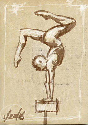 Balance Drawing - Balance by H James Hoff