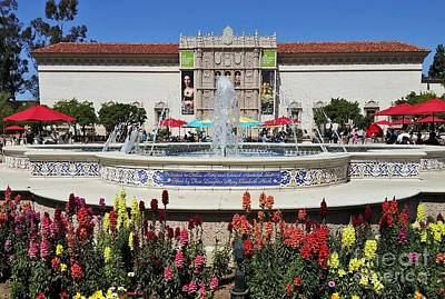 Photograph - Balboa Park San Diego by Jasna Gopic