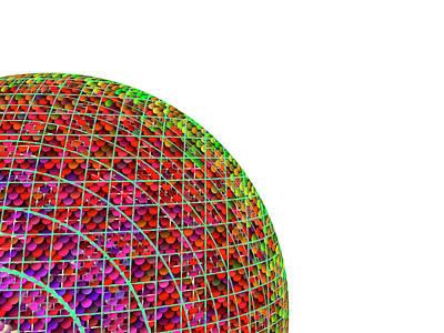 Digital Art - Balls by Contemporary Art
