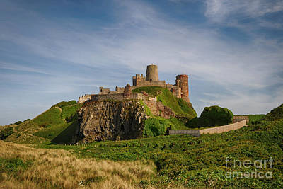 Northumberland Photograph - Bamburgh Castle by Smart Aviation