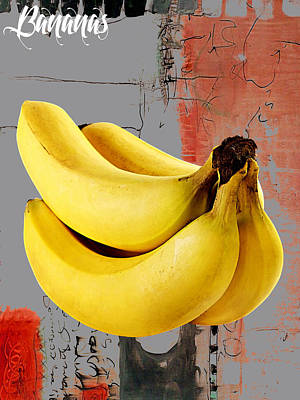 Banana Collection Art Print by Marvin Blaine