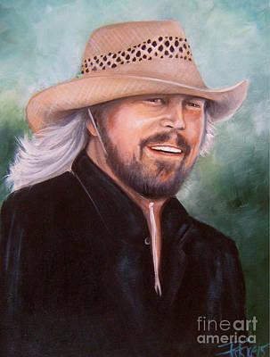 Barry Gibb Art Print