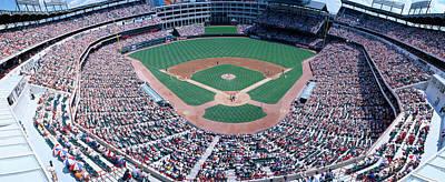 Pitching Photograph - Baseball Stadium, Texas Rangers V by Panoramic Images