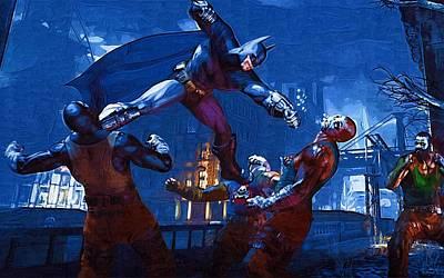 Batman The Joker Art Print by Egor Vysockiy