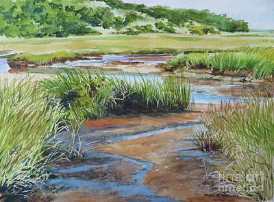 Lowley Marsh Art Print
