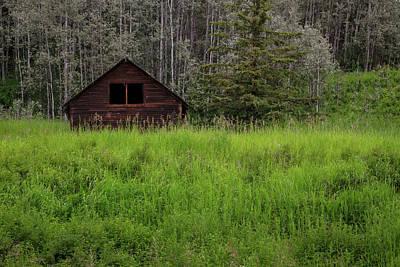 Photograph - Bc Homestead by Ryan Heffron
