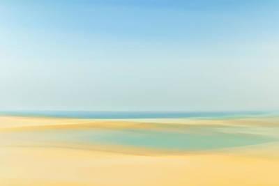 Photograph - Beach Art by Byron Fair