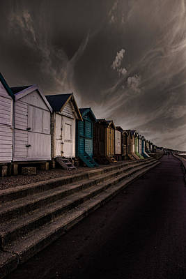 Beach Huts Photograph - Beach Huts by Martin Newman