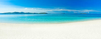 Fantasy Royalty-Free and Rights-Managed Images - Beach panorama by MotHaiBaPhoto Prints