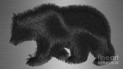 Mammals Mixed Media - Bear Collection by Marvin Blaine