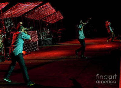 The Beastie Boys Photograph - Beastie Boys Ft. Nas At Bonnaroo by David Oppenheimer